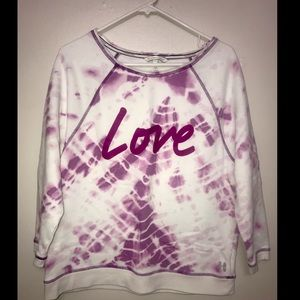 Victoria's Secret tie dye sweater